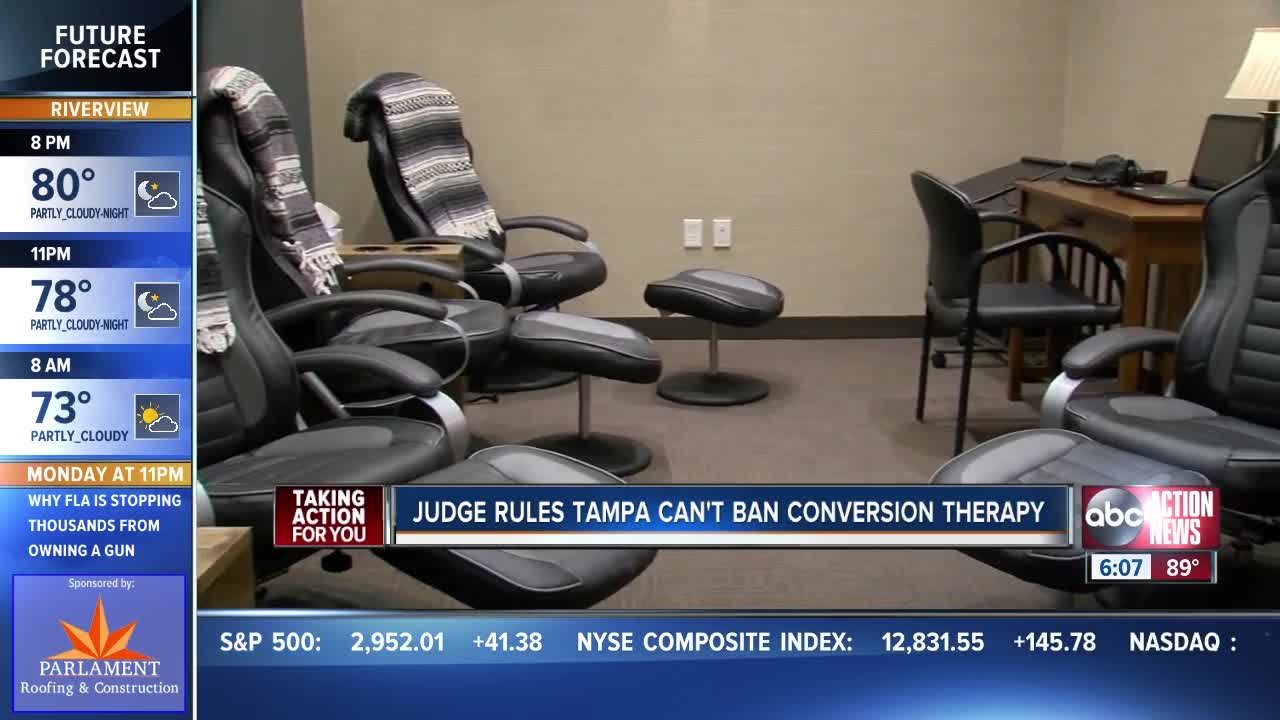 Tampa's Conversion Therapy Ban Is Struck Down By Federal Judge