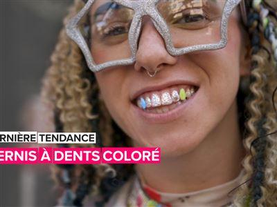 Le vernis à dents, la dernière tendance loufoque