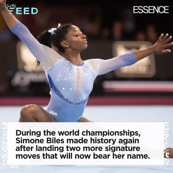 Simone Biles is now the most decorated female gymnast in history