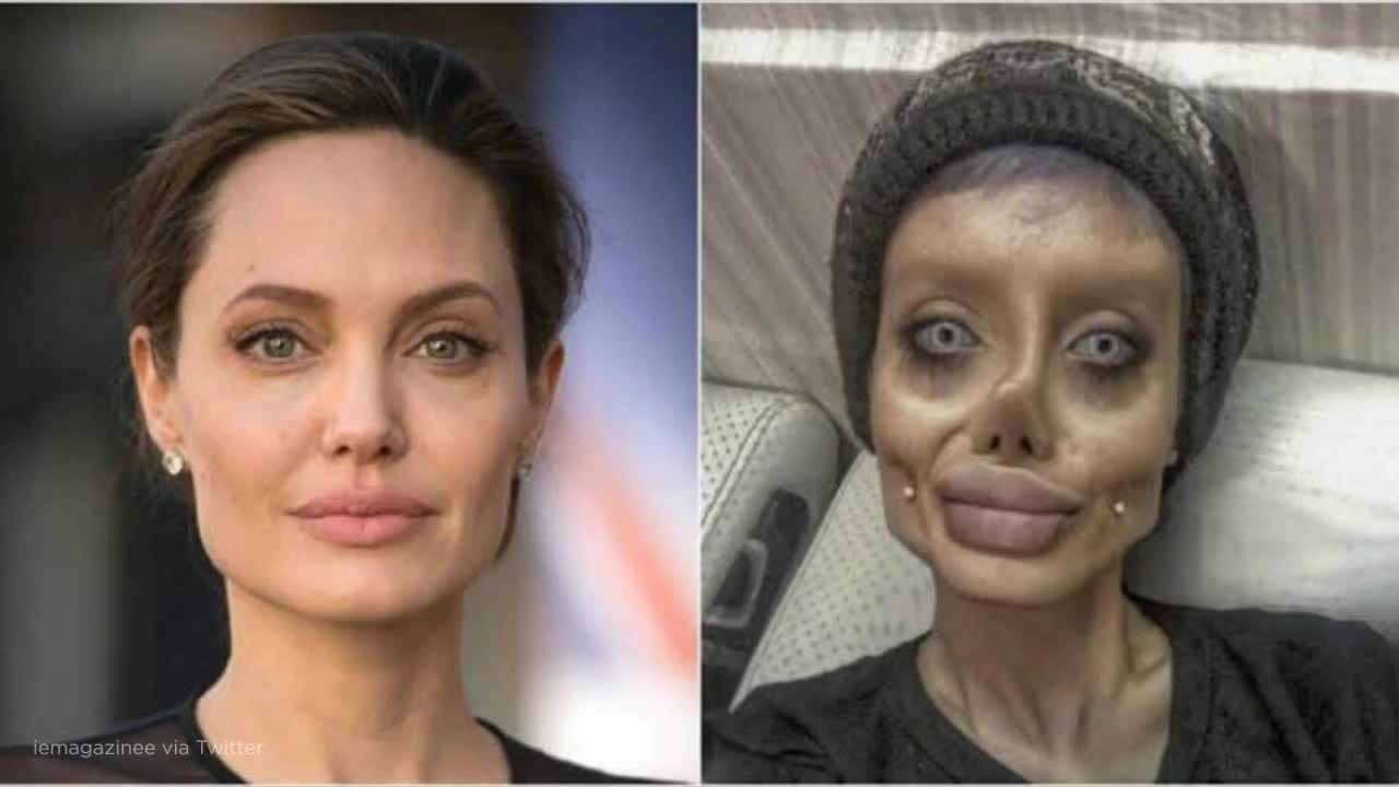 Iranian Angelina Jolie 'lookalike' arrested for blasphemy