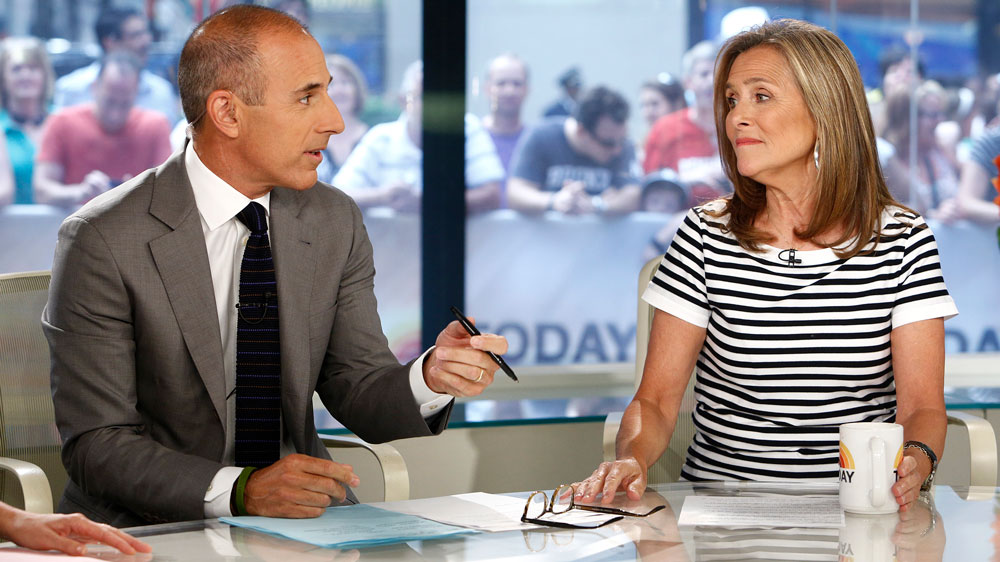 Matt Lauer and Meredith Vieira 'never spoke again' after his 'Today' show firing: report