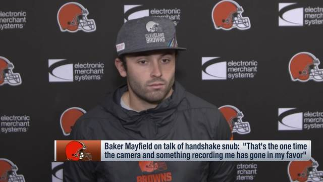 Baker Mayfield reacts to Richard Sherman handshake debacle: 'I know what I did'