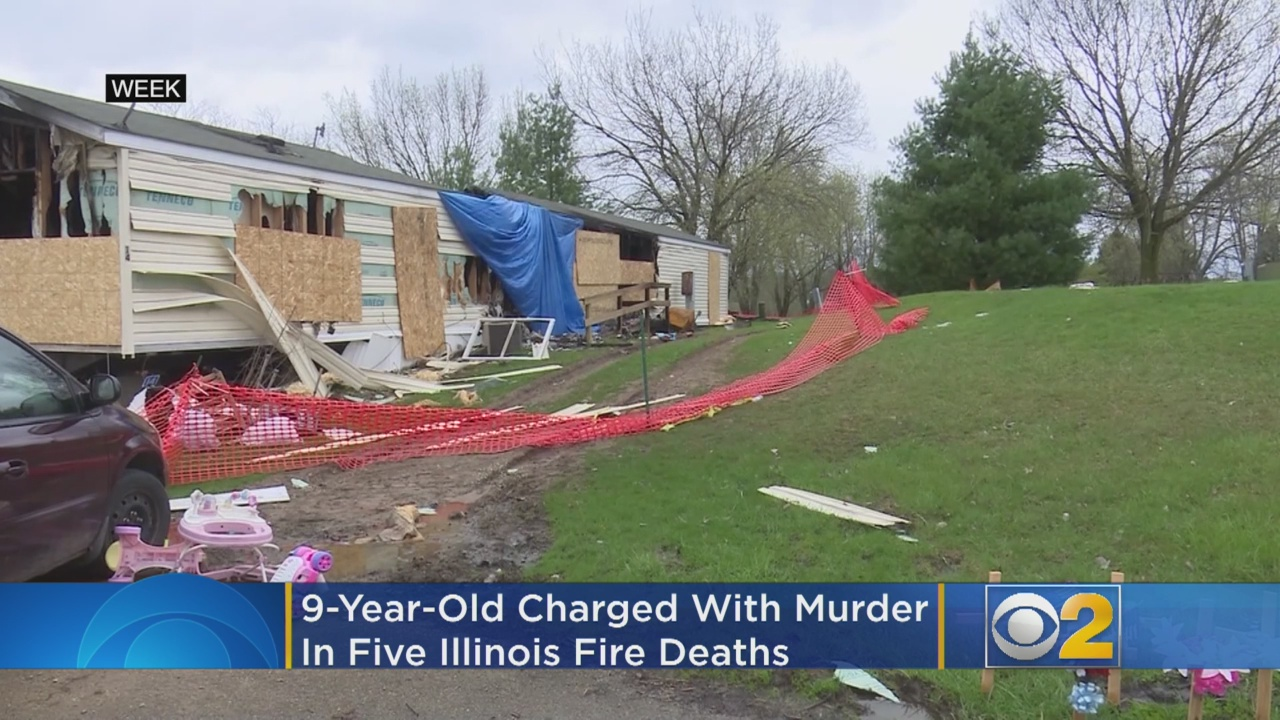 Mom breaks silence over 9-year-old charged with setting fire that killed 5 family members