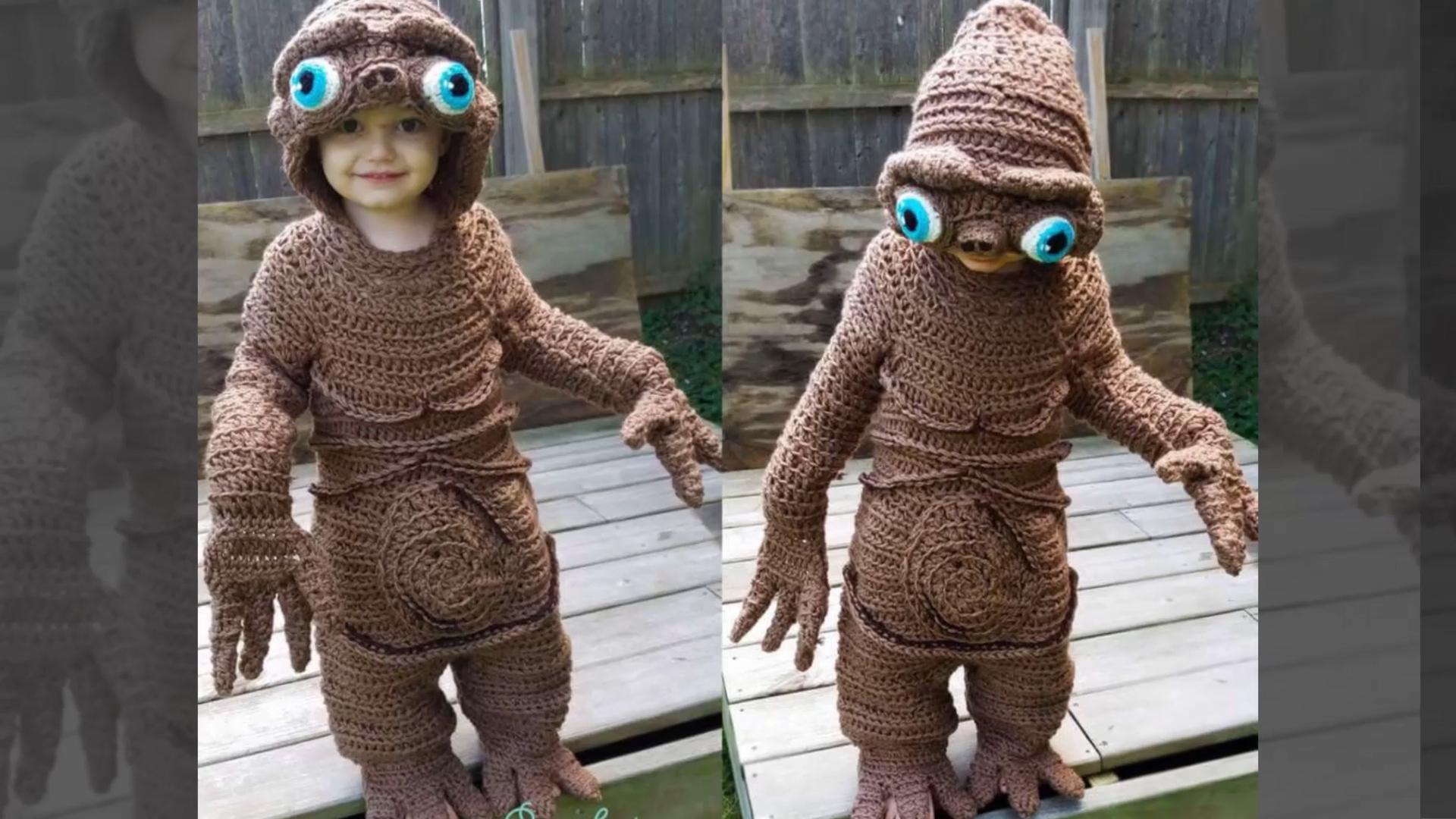 Les costumes d'Halloween faits maison de cette mère sont fous!