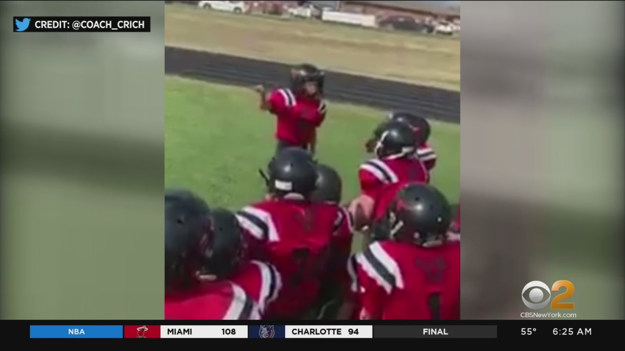 10-Year-Old's Pep Talk To His Football Team Wins The Internet