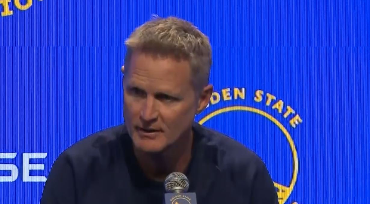 Steve Kerr responds to Donald Trump's 'little boy' comments: 'I was the shiny object yesterday'