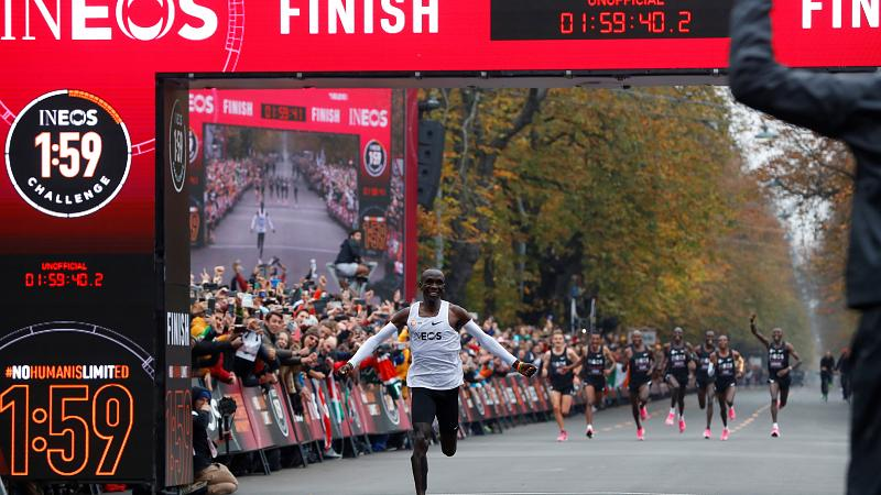 Eliud Kipchoge Becomes First Person To Run Marathon In Under 2 Hours