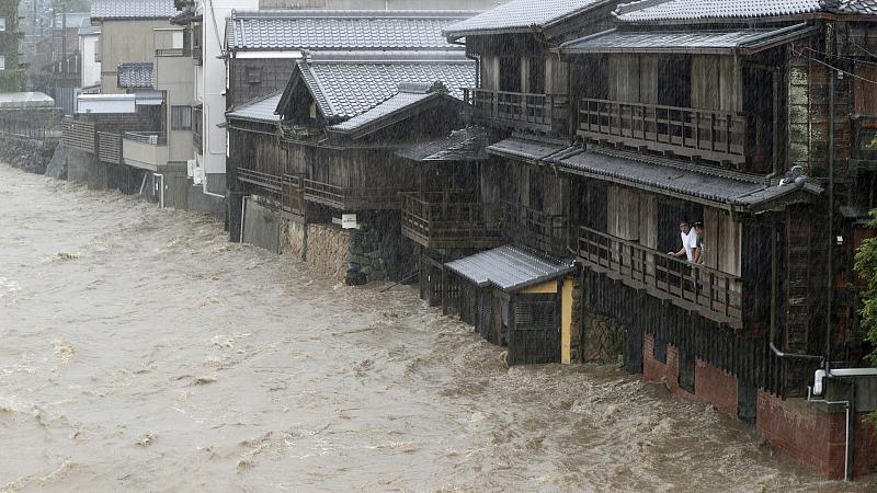 Two Killed As Typhoon Hagibis Bears Down On Tokyo