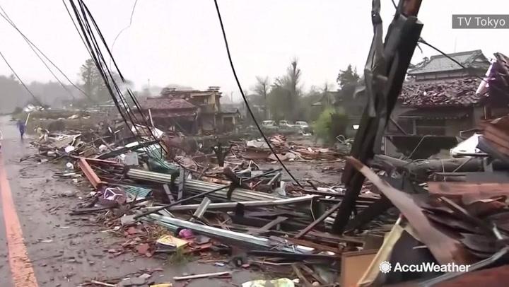 Over 50 killed, more than 200 injured after Typhoon Hagibis slams Japan