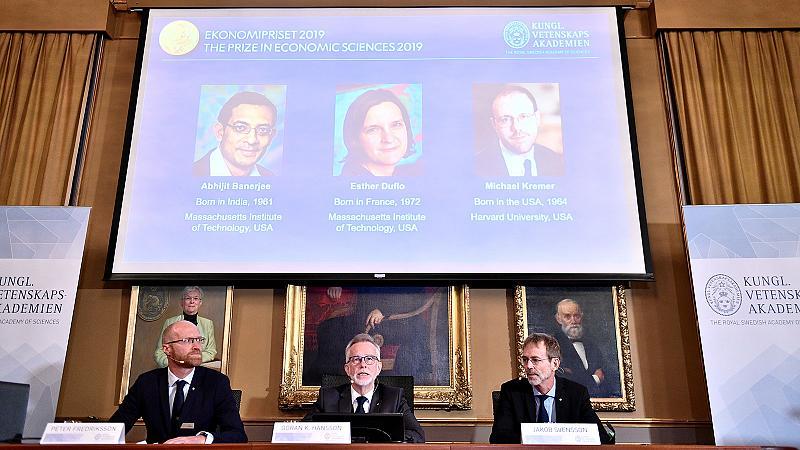 Le Nobel d'économie remis à un trio de chercheurs