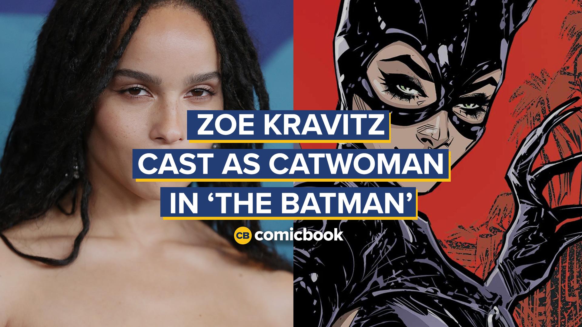 Zoe Kravitz Cast As Catwoman In Matt Reeves The Batman