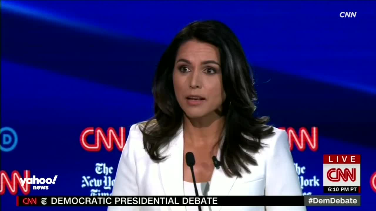 Tulsi Gabbard Opposes 'Regime Change Wars' — But She's Not Anti-war