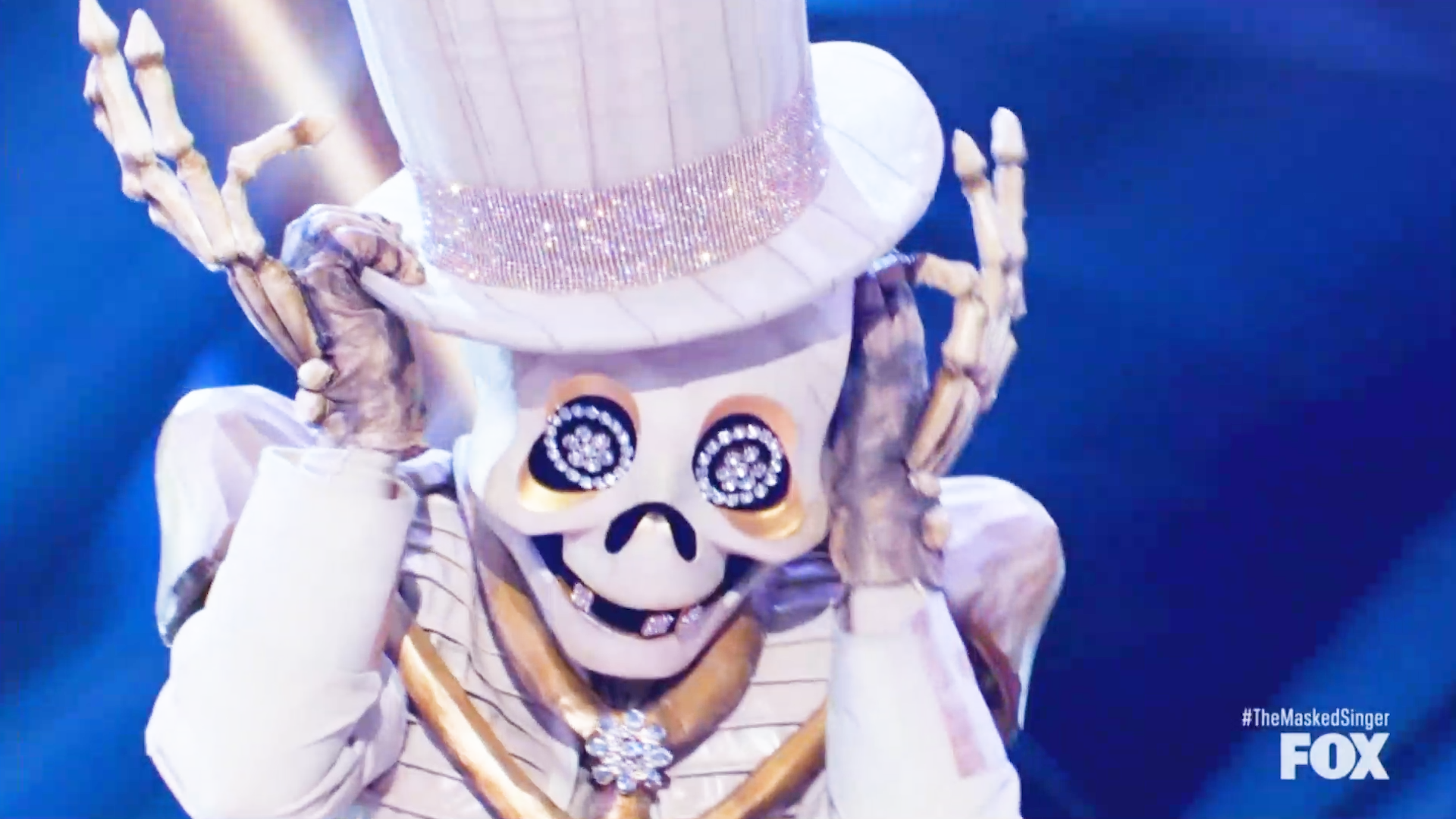 'The Masked Singer': The Skeleton gets buried - see who was under the sparkly skull mask