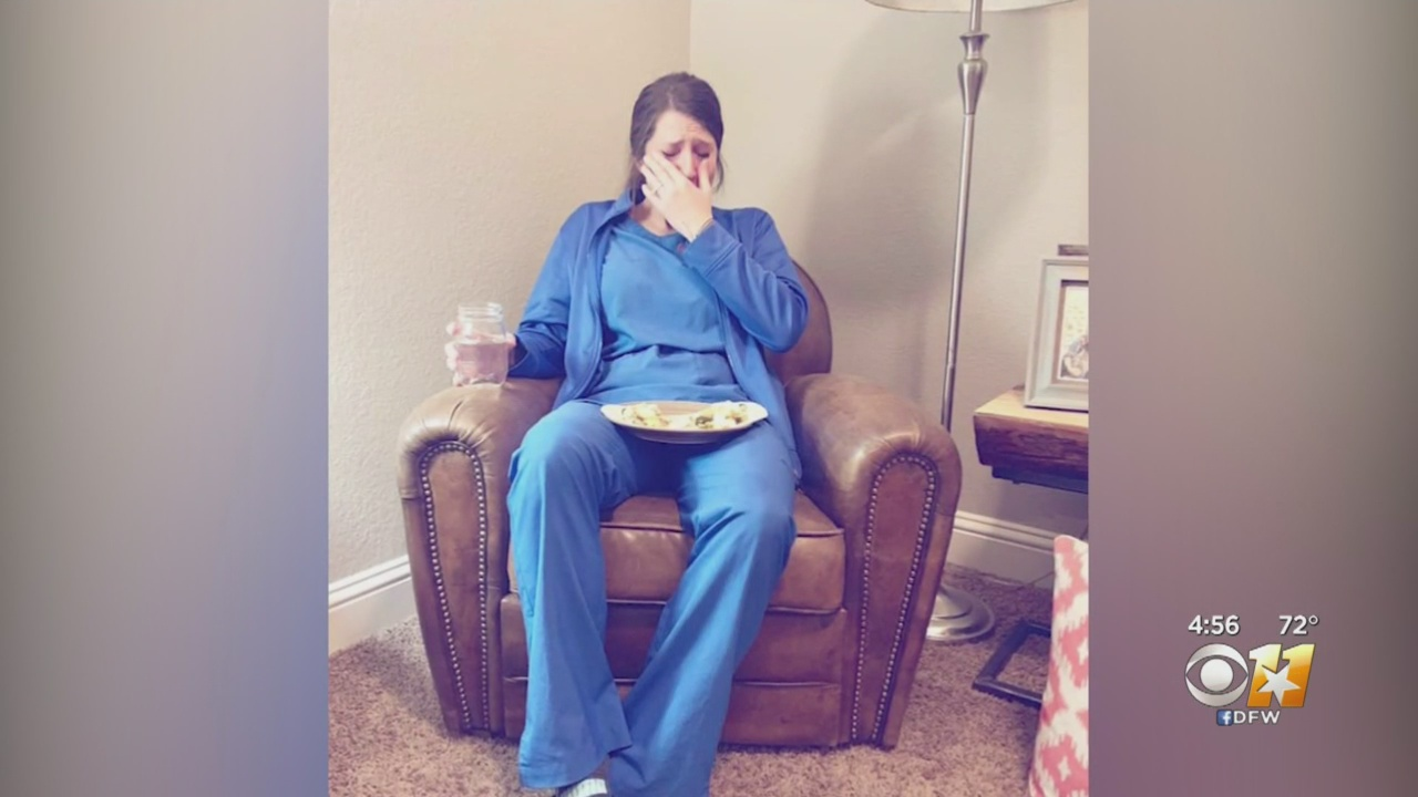 Heart-rending photo of distressed nurse goes viral: 'She's gonna kill me for this pic'