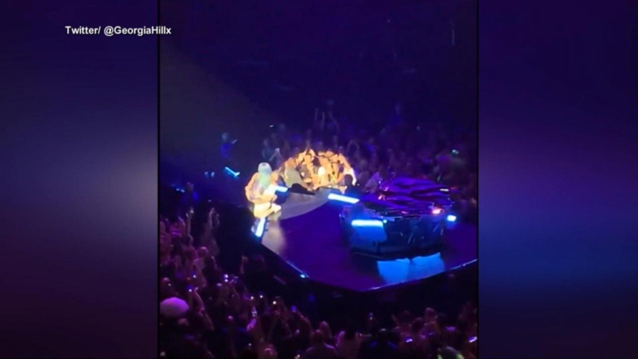 Lady Gaga raises eyebrows with post-show bathtub photos on Instagram