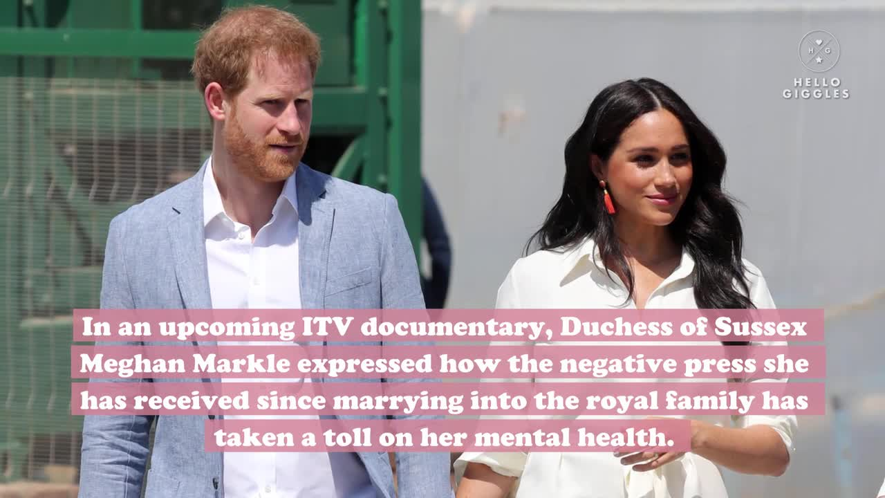 Meghan Markle Says She Was Warned Not To Date Prince Harry
