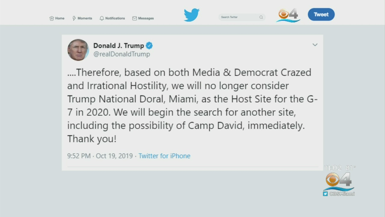 'Keep Fighting' — Twitter Critics Celebrate Victory After Trump Dumps Doral For G-7