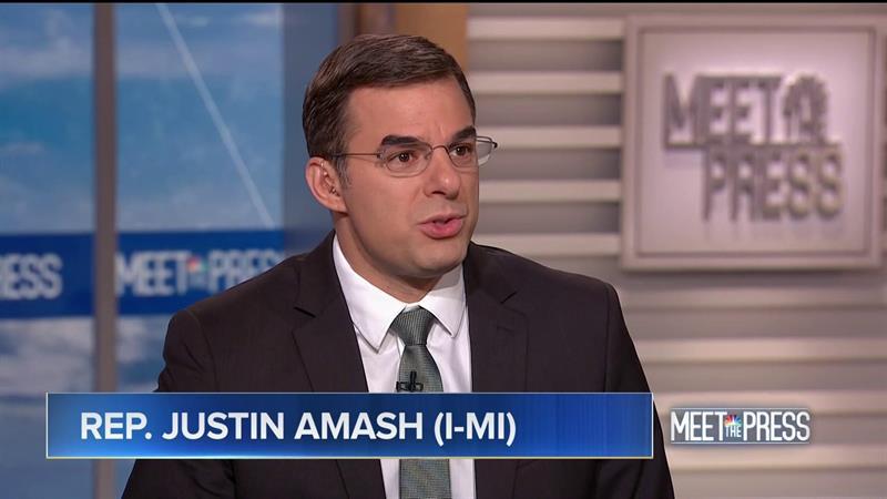 Justin Amash Rips Trump For Shuffling Troops, Treating Them As 'Mercenaries'