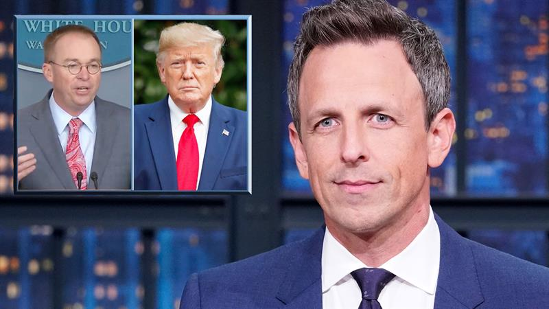 Seth Meyers Blitzes Trump's Latest Meltdown: 'Once Again, He Lost His Mind'