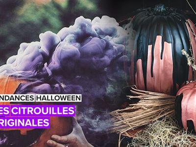 Des citrouilles d'Halloween qui sortent vraiment de l'ordinaire