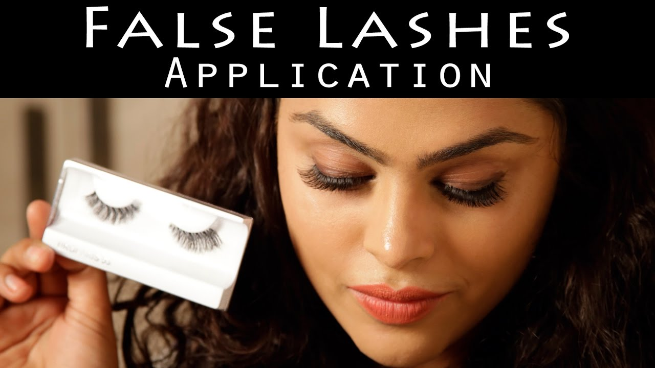 How To Apply Fake Eyelashes, According To The Pros