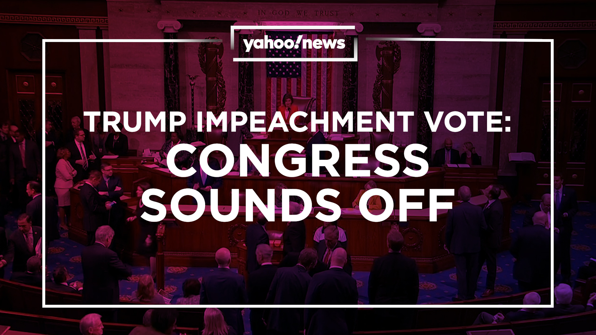 Impeachment vote foreshadows bitter fight over Trump's fate