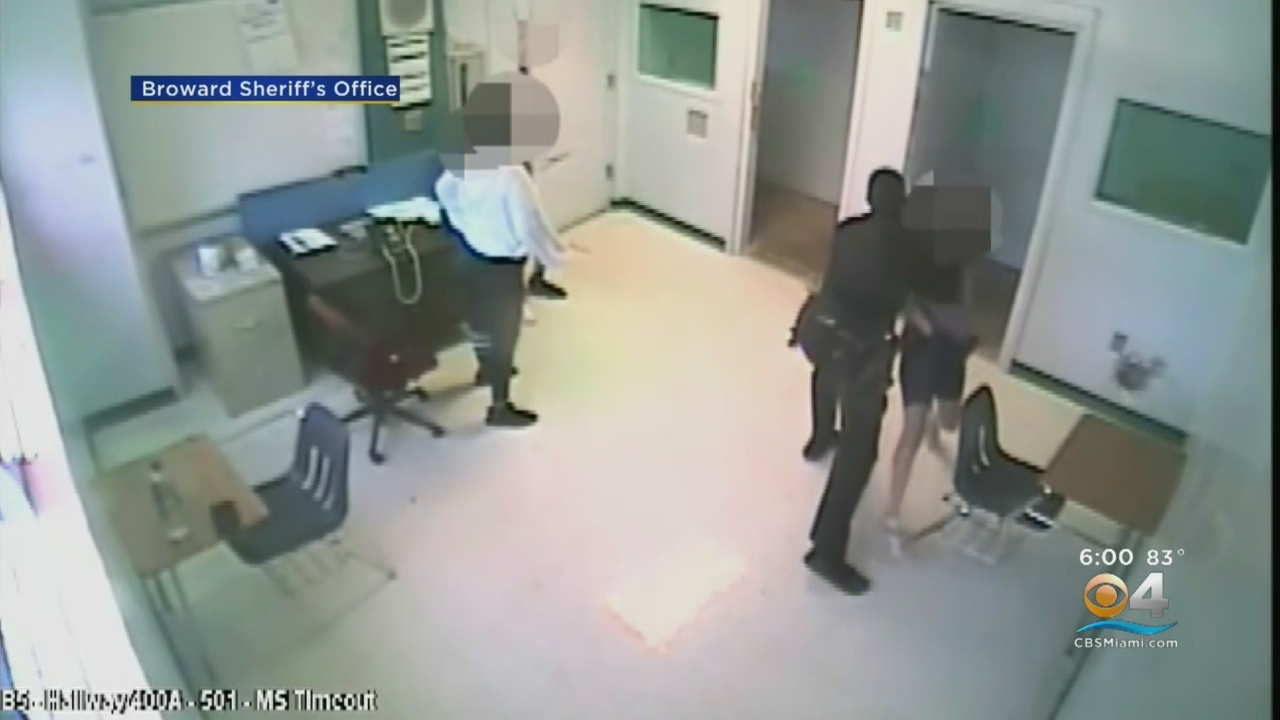 Florida Sheriff's Deputy Arrested After Throwing Girl To Floor By Her Neck