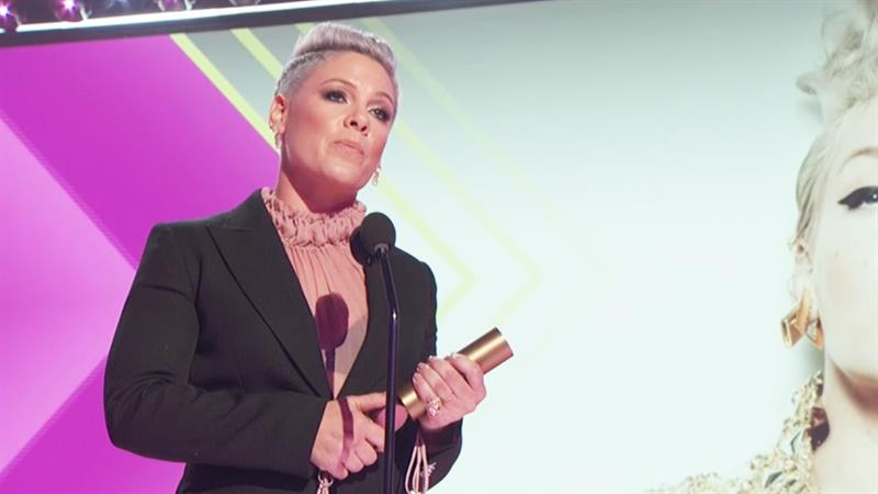 Pink's Advice To Fans: 'Change The F**king World!'