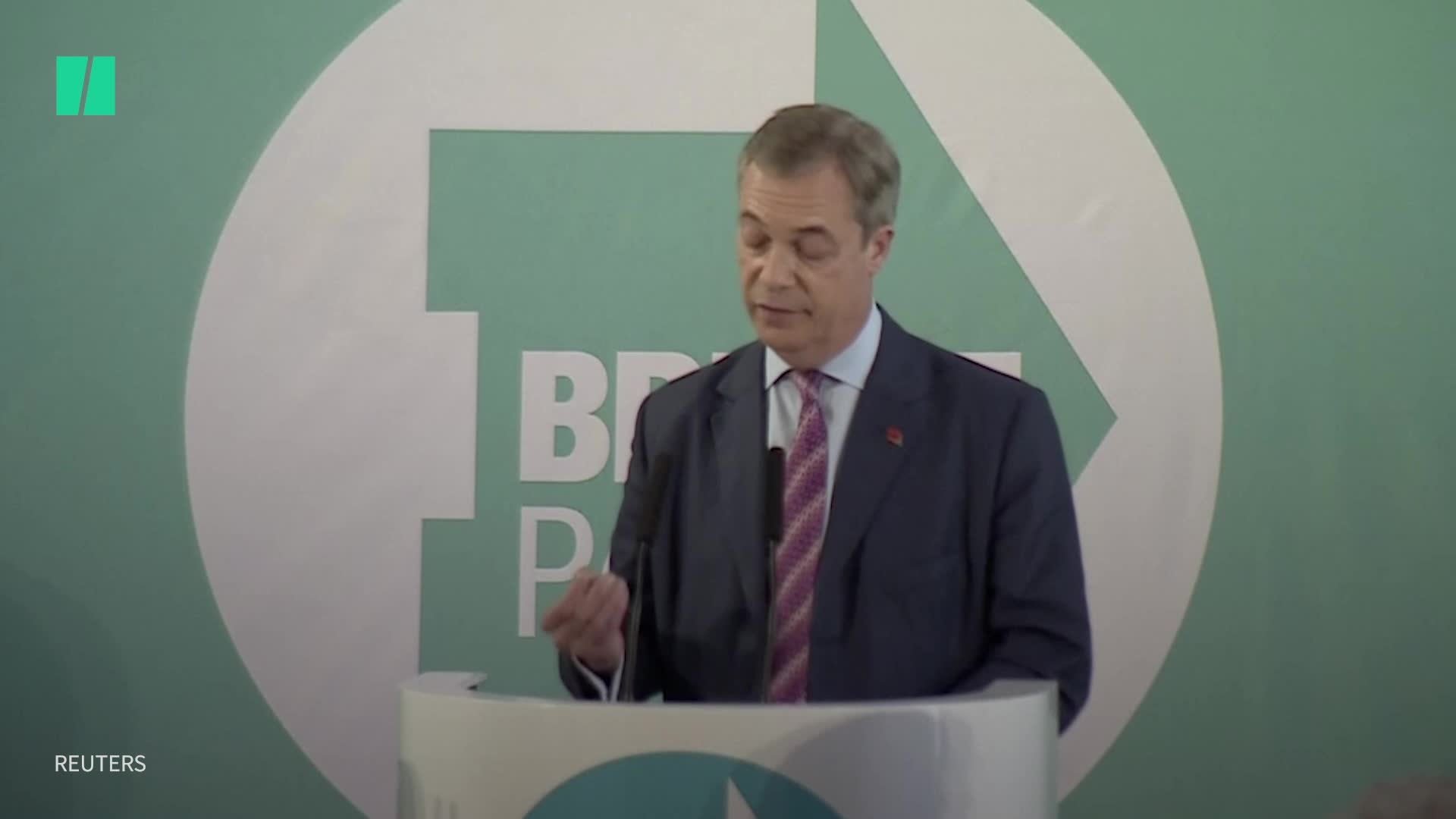 Nigel Farage's Brexit Party Stands Aside For The Tories In Election