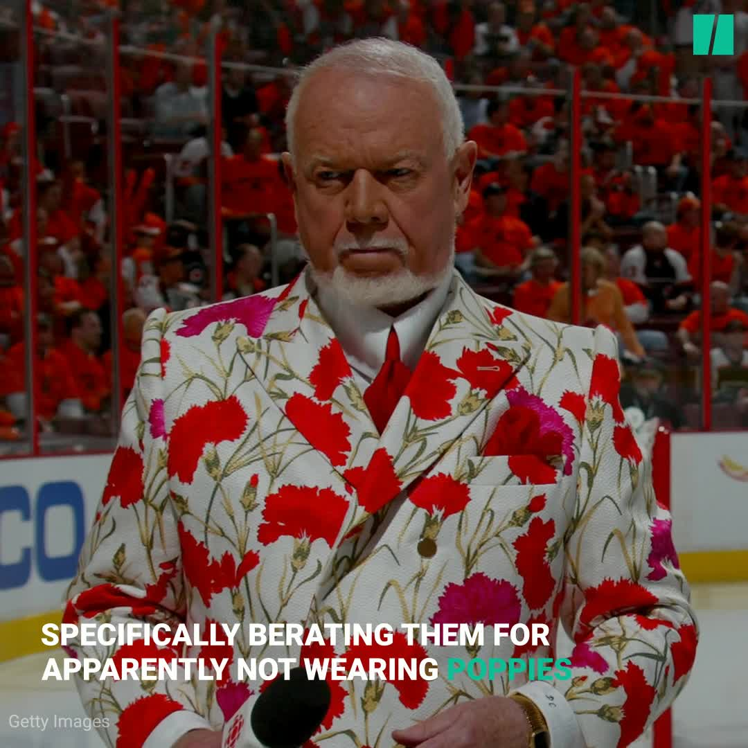 Hockey Never Wanted 'You People' Like Us. Don Cherry Was A Constant Reminder.