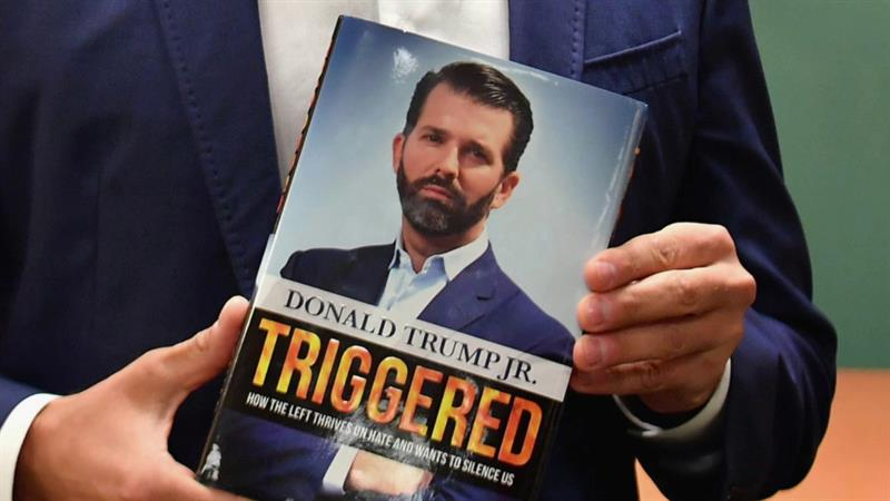 Don Jr.'s Braggy Tweet About Book Sales Triggers All Sorts Of Twitter Snark