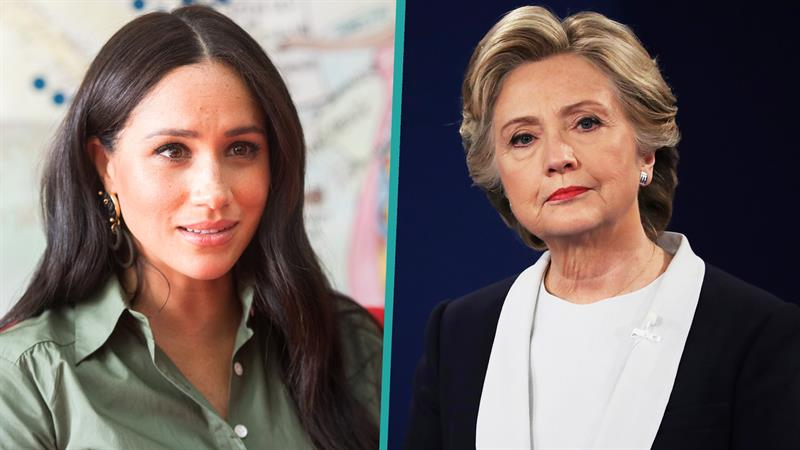 Hillary Clinton shows support for pal Meghan Markle months after secret visit