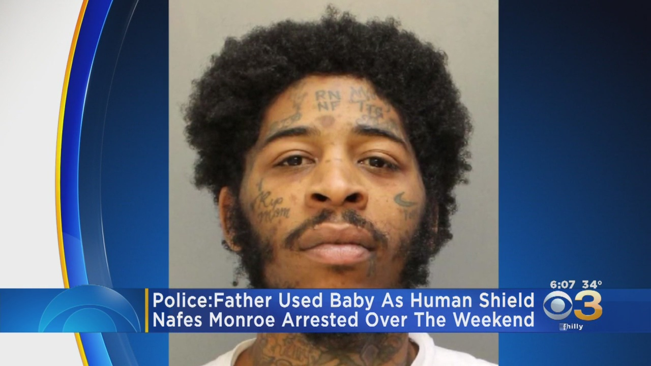 Man arrested for using 11-month-old as 'human shield'