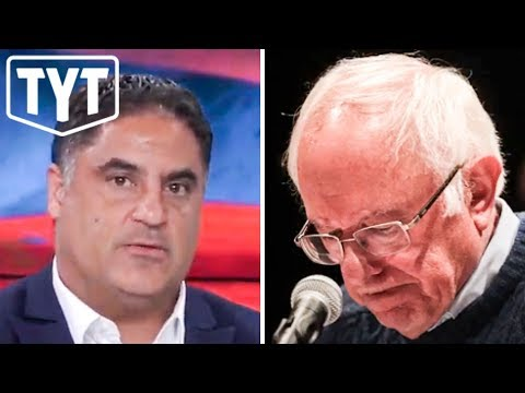 Bernie Sanders Endorses Young Turks' Cenk Uygur For Congress