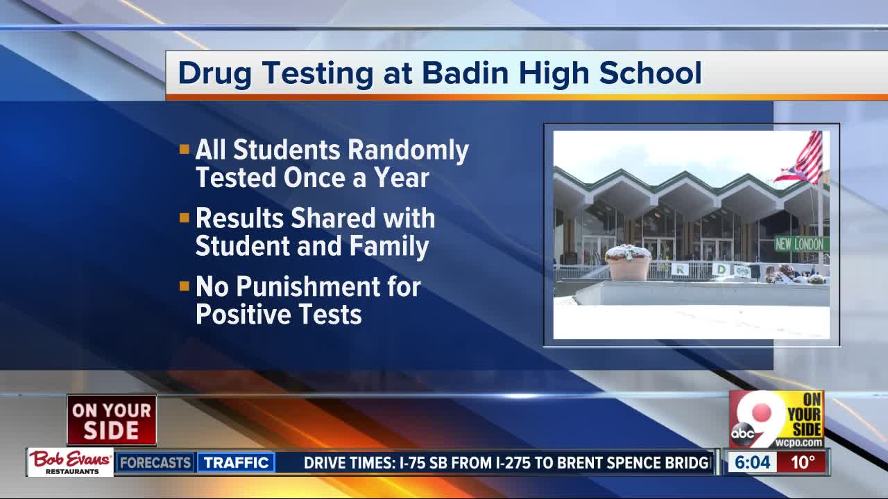 High school announces mandatory drug tests for students: 'The community should embrace it'