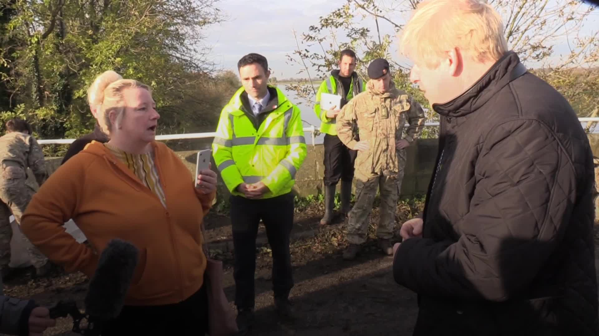 Boris Johnson Admits He Must Do More To Help Flood Victims