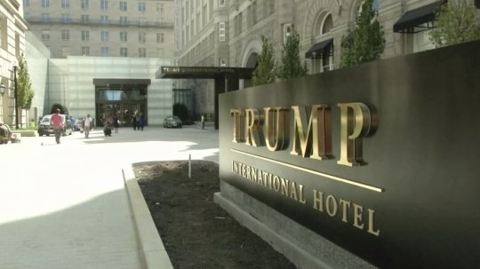Trump Retweets Son Eric's Promo Of Their D.C. Hotel, Infuriating His Former Ethics Chief