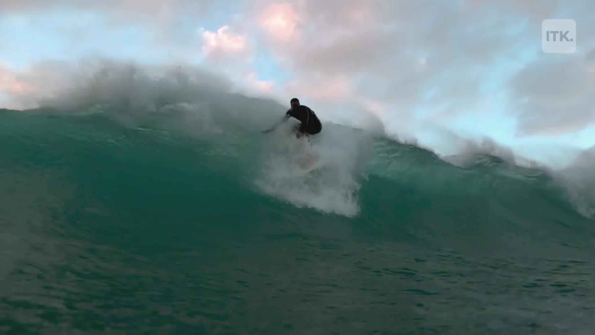 Man turns 10,000 cigarette butts into stunning surfboard