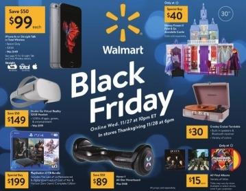 Walmart reveals start of Black Friday deals for 2019
