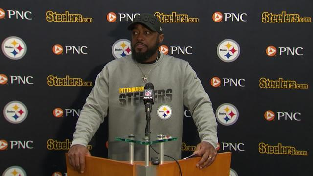 Mike Tomlin refuses to comment on Garrett, Rudolph brawl: 'You guys saw what happened'