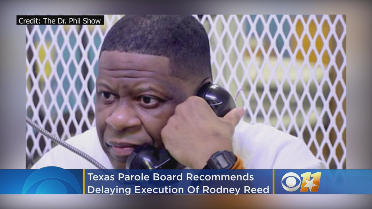 Texas Parole Board Recommends Delaying Execution Of Rodney Reed