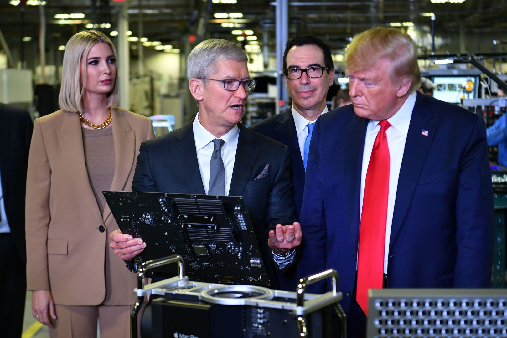 Trump Boasted About A 'New' Apple Plant In Texas. It Opened In 2013.