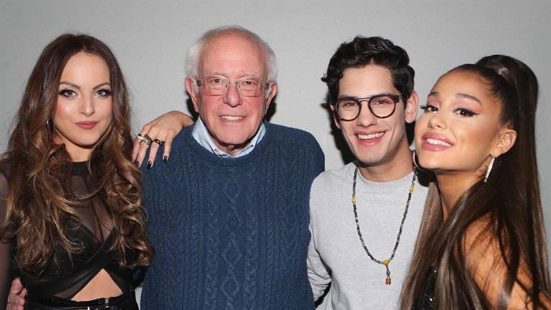 Stars stanning Democrats: Ariana & Bernie, Bon Jovi & Booker and more celebrity supporters