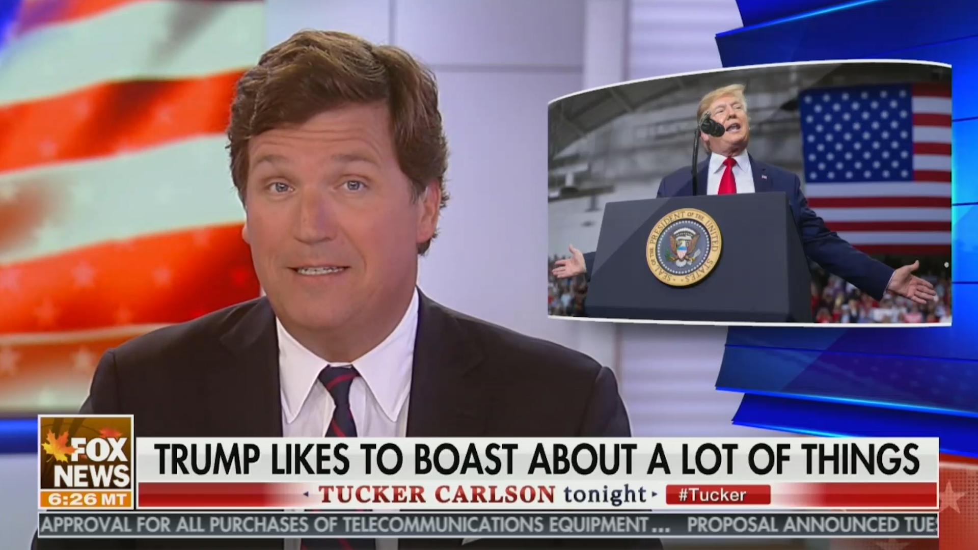 Tucker Carlson Calls Trump A 'Full-Blown BS Artist' And Admits He's A Liar