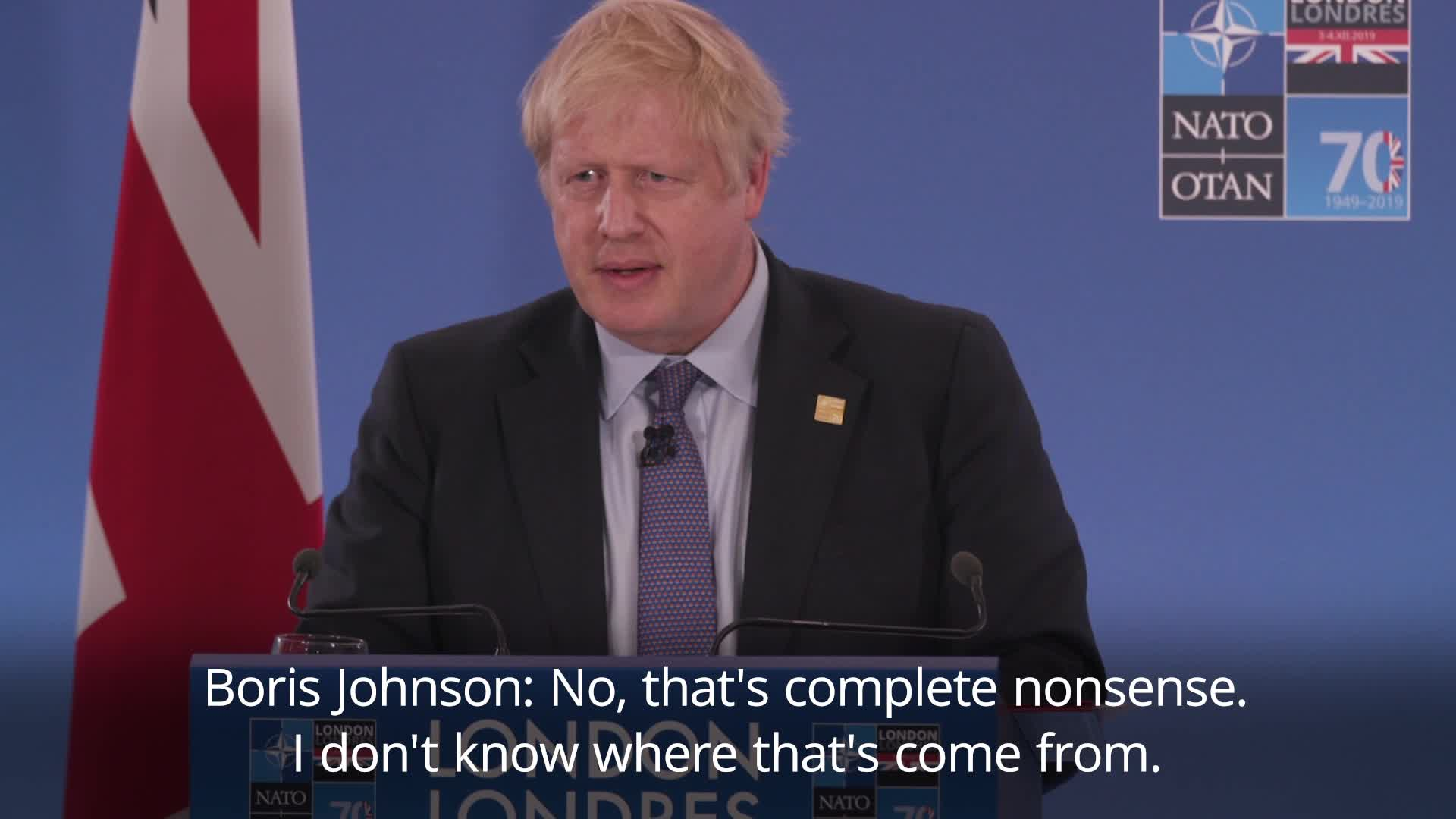 Did Johnson's Decontamination Strategy Protect Him From Toxic Trump?