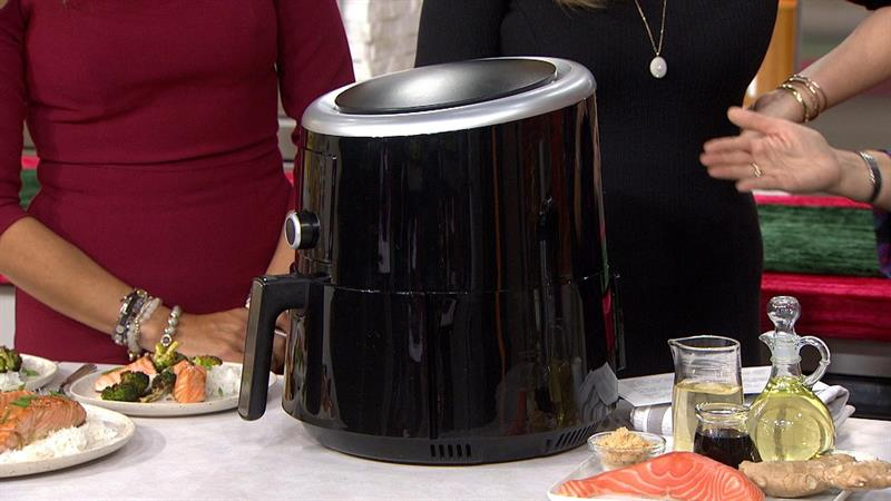 Take 30 percent off the smart air fryer that you can control on your phone