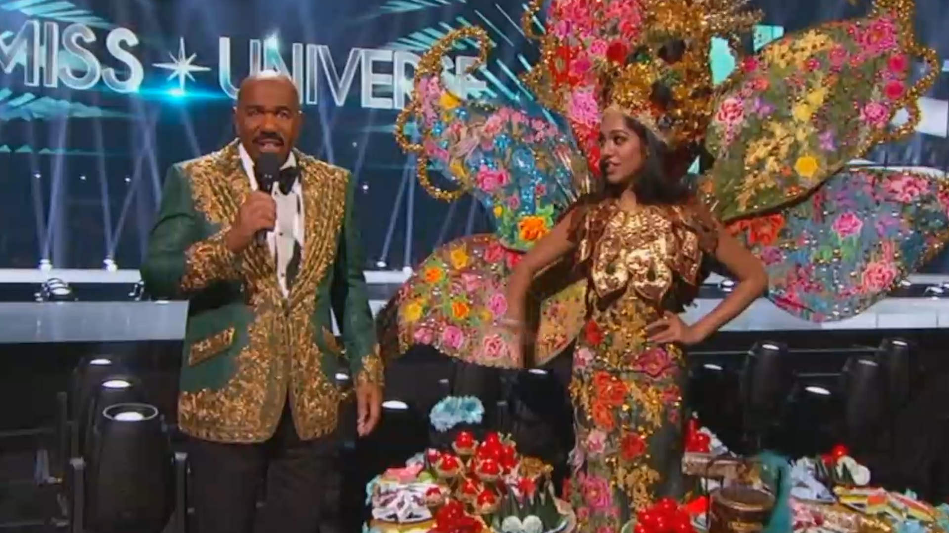 Steve Harvey Has Another Brutal Night Hosting Miss Universe