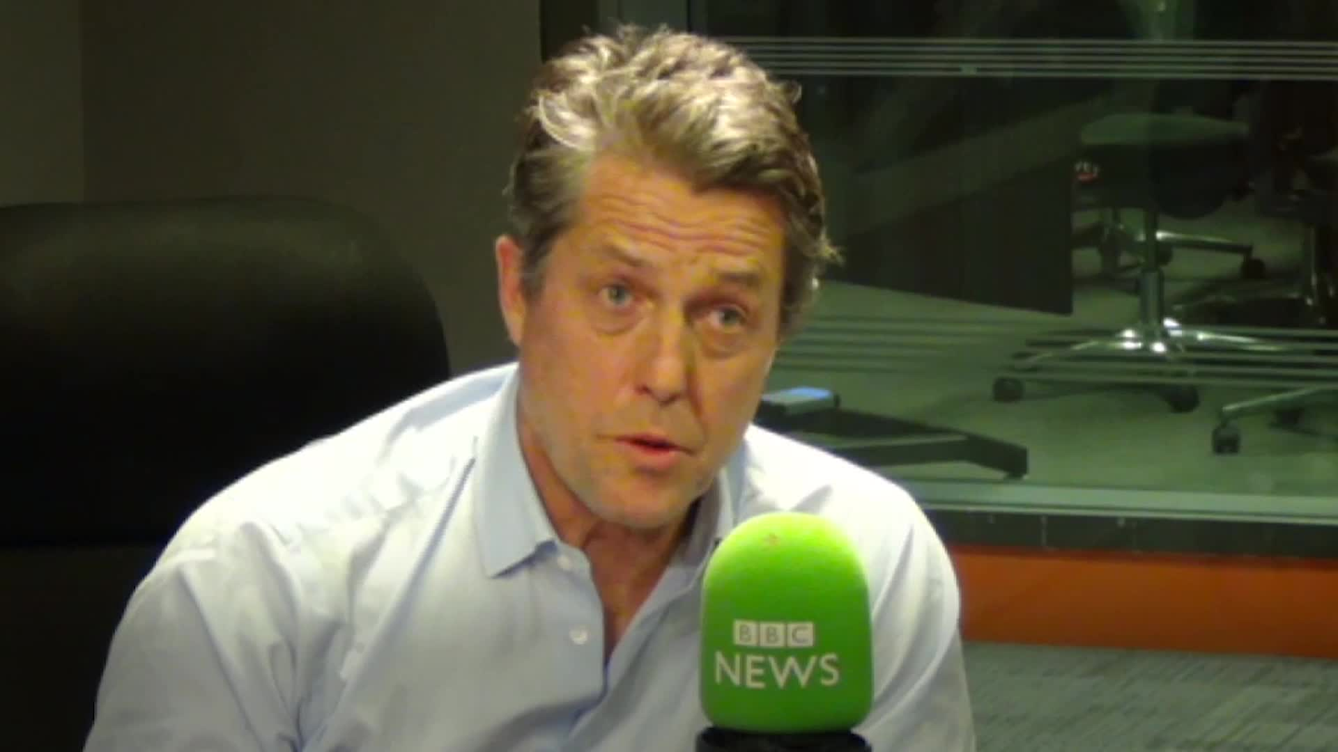 Hugh Grant Gives Withering Response To Boris Johnson's Love Actually-Inspired Campaign Video