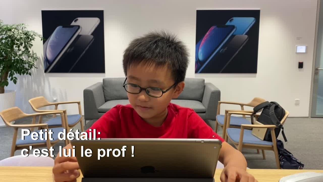 Vita, le jeune chinois de 8 ans qui enseigne la programmation informatique