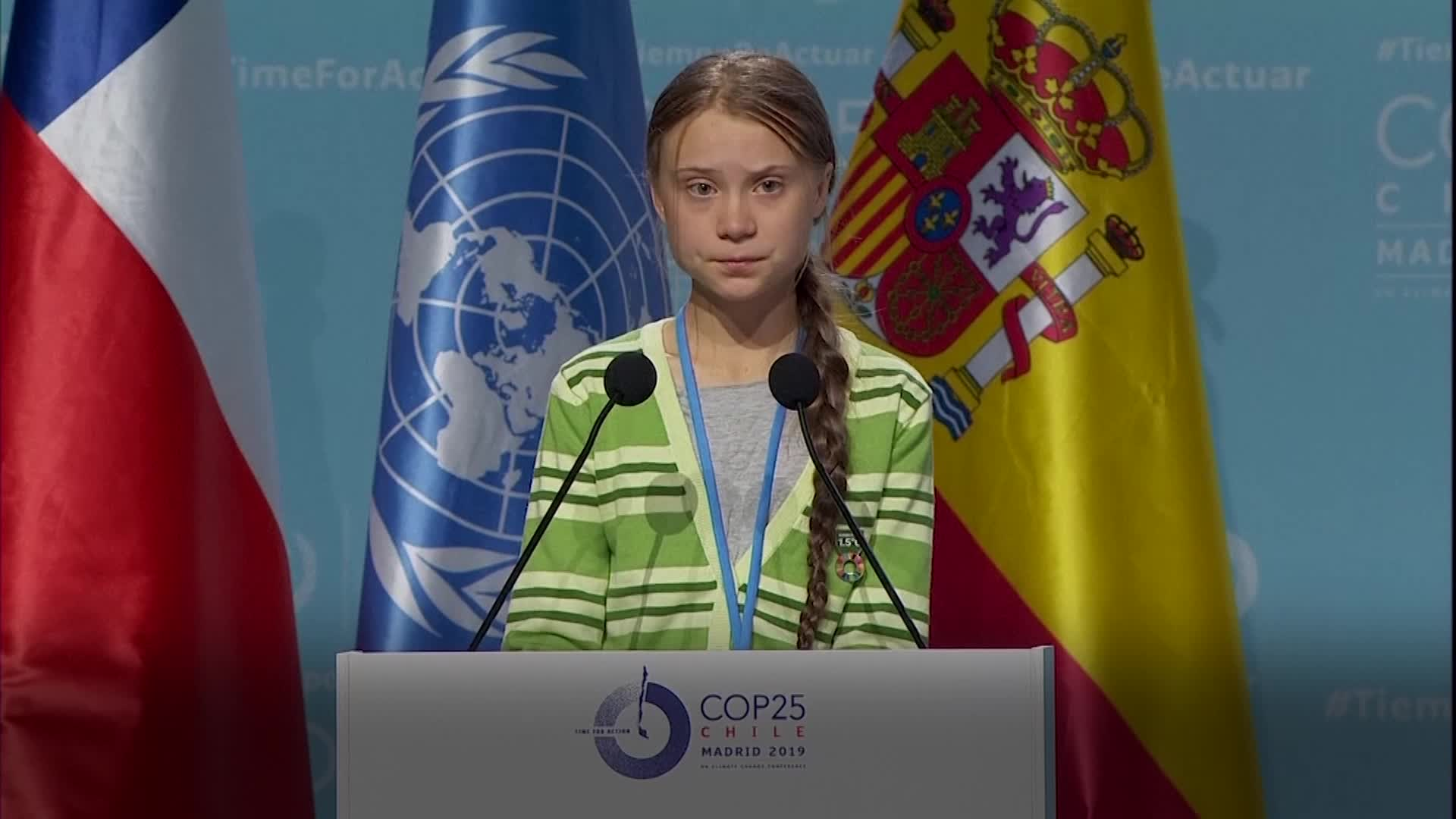 At UN Climate Summit, Greta Thunberg Lifts Up Science, Blasts World Leaders
